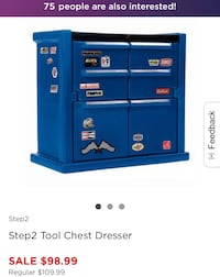 Tool Chest Dresser Los Angeles, 91335