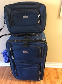 Luggage with Carry on bag