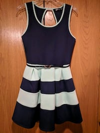 Navy and mint sleeveless dress Vancouver, 98685