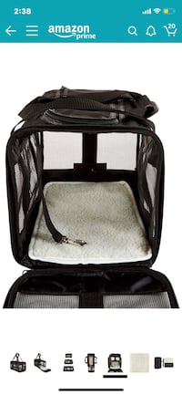 Medium Pet Carrier - Soft Sided Airline Approved