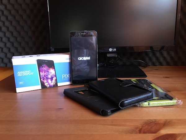 ALCATEL PIXI 4 6 3G + COVER & SMART WATCH
