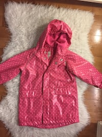 Kids size 3T Cute Pink Raincoat Vancouver, V6Z 3A3