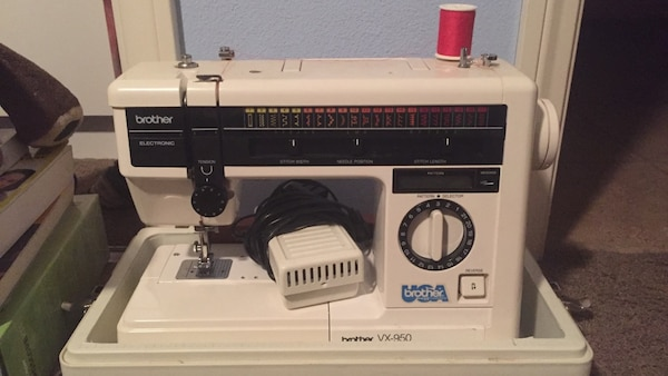 Used Vx40 Brother Sewing Machine 40th Anniversary For Sale In Awesome Brother 35th Anniversary Sewing Machine