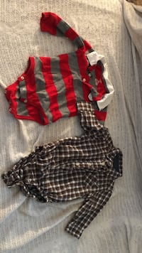two black, red, and white onesies Henrico, 23228