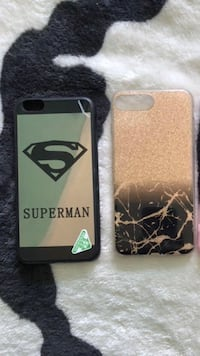 Superman iPhone 6+ New- SuperManCase-+, Gold/Black-Iphone7+ $4