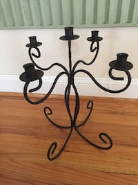Cast iron candle holder 31 km