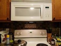 Over the stove microwave.  Works great.  Remodeled the kitchen.   Springfield, 65807
