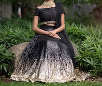 Black lengha / lehenga for sale  Brampton