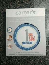 Carter's Month Stickers Hamilton, L8M 2B5