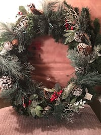 Xmas Wreath Vaughan, L4H