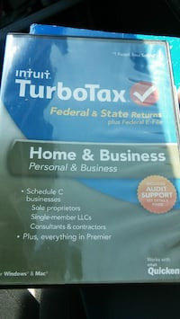 2013 Turbo Tax Home and Business Beaufort, 29902
