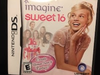 """Sweet Sixteen"" game for Nintendo DS or 3DS Columbia, 21046"