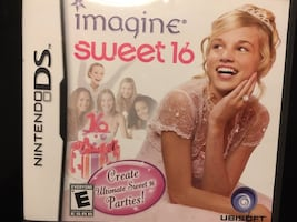 """""""Sweet Sixteen"""" game for Nintendo DS or 3DS"""