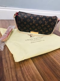 Lv  inspired clutch bag