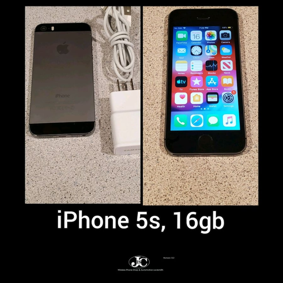 iPhone 5s, 16gb! Unlocked For Any Carrier! PRICE IS FIRM!