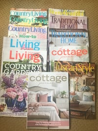 12 home and garden decorating magazines  Vancouver, 98683