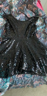 black sparkly dress great from prom . Size Large Murfreesboro, 37128