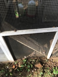 Chicken coop/fencing/water bowls/feed holder obo Forest Hill, 21050