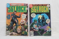 Sgt Rock of Easy Co. comic collection for sale (21 Brampton