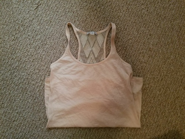 AE lace back tank size small