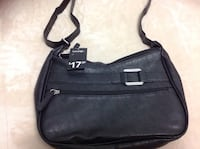 black leather crossbody bag  brand new with tag Hamilton, L8V 4K6