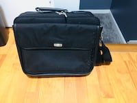 black soft-side luggage 535 km
