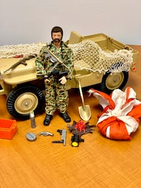 1964 G.I Joe and Jeep and accessories  St. Louis, 63116