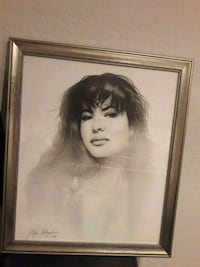Collectable Selena picture drawing  Irvine, 92620