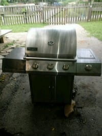stainless steel outdoor gas grill