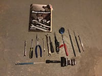 Craftsmen and Jet brand new tools with book brand new tools Surrey, V3W 1B3