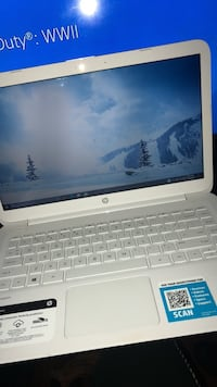 white and black HP laptop Hyattsville, 20783