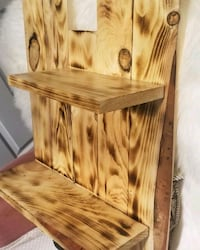 Custom Pine Shelve (Stained&Varnished)$60.00