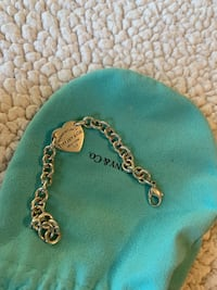 Authentic Tiffany & co heart tag necklace Toronto, M6N