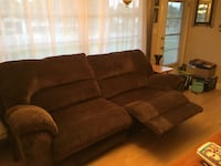 Reclining sofa brand new