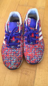 pair of blue-and-pink Adidas sneakers San Diego, 92101