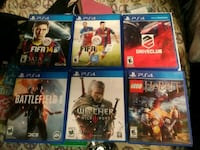 Ps4 all six for one price Denver, 80206