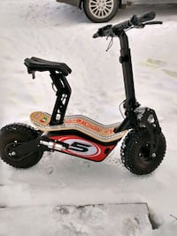 Heavy duty electric scooter