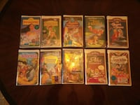 10 sealed disney classic vhs tapes  Statesville