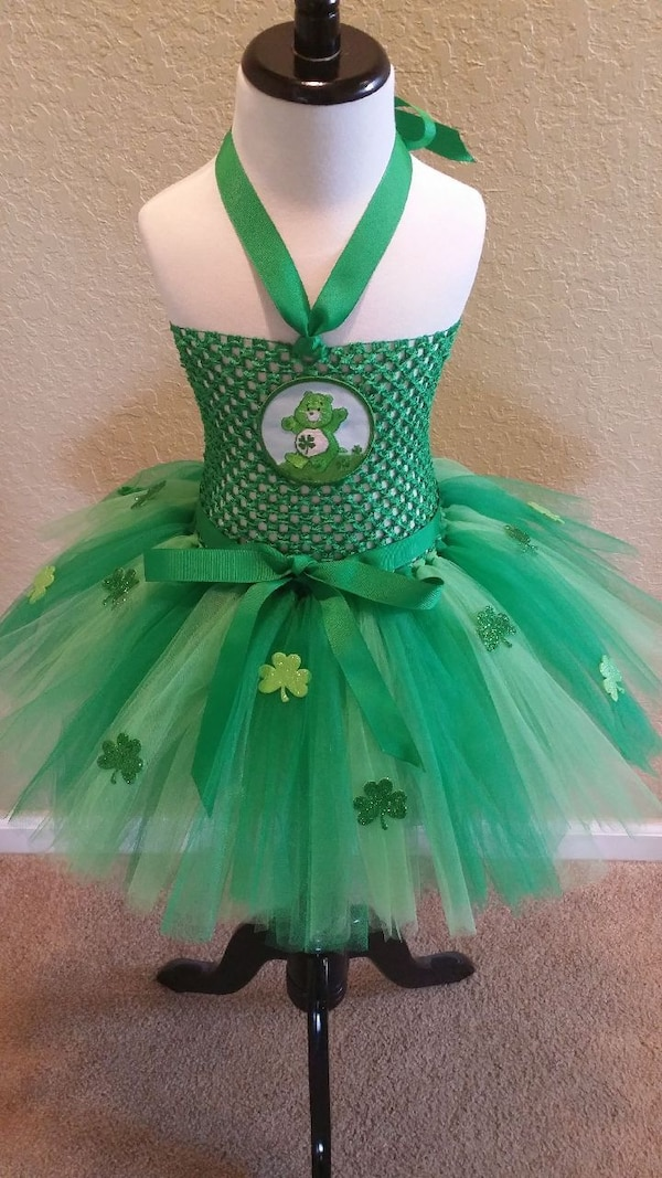 cdfdc8d32 Used St. Patrick's Day Tutu Dress for sale in Windermere - letgo