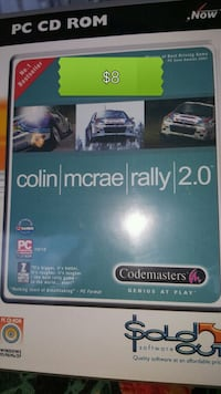 RALLY...PC GAME Mint condition disc (s)   Pick up