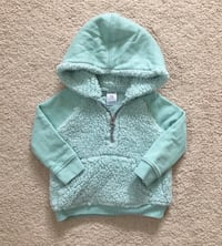 Carters Sherpa hoodie size 12 months Mississauga, L5M 6C6