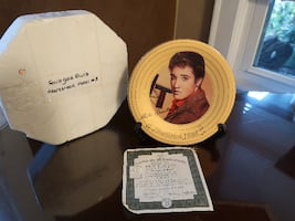 Elvis Presley Solid Gold Plate Collecton (3 p