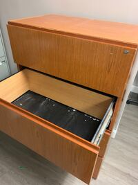 Wooden File Cabinet  Georgetown, L7G 4A9