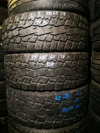LT285/65R18 Toyo Open Country Xtreme x 3