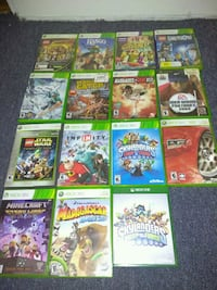 15 VIDEO GAMES FOR X-BOX 360 ALL OF THEM FOR $30 Bronx, 10470