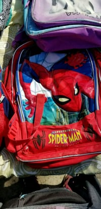 red and blue Spider-Man backpack Moreno Valley, 92553