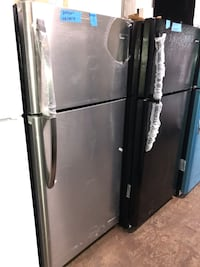"""New 30"""" top and bottom refrigerator 6 months warranty"""