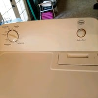 white Roper front-load clothes dryer Colorado Springs, 80918