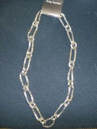 silver chain link necklace with pendant Santa Rosa, 95405