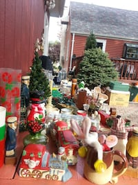 Christmas Items Sale Huge Garwood, 07027